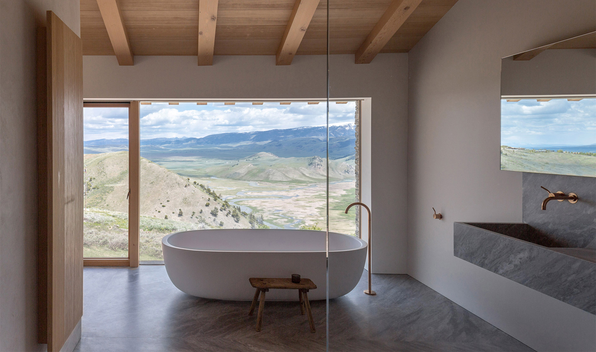 A Nature-Inspired Jackson Hole Home by McLean Quinlan