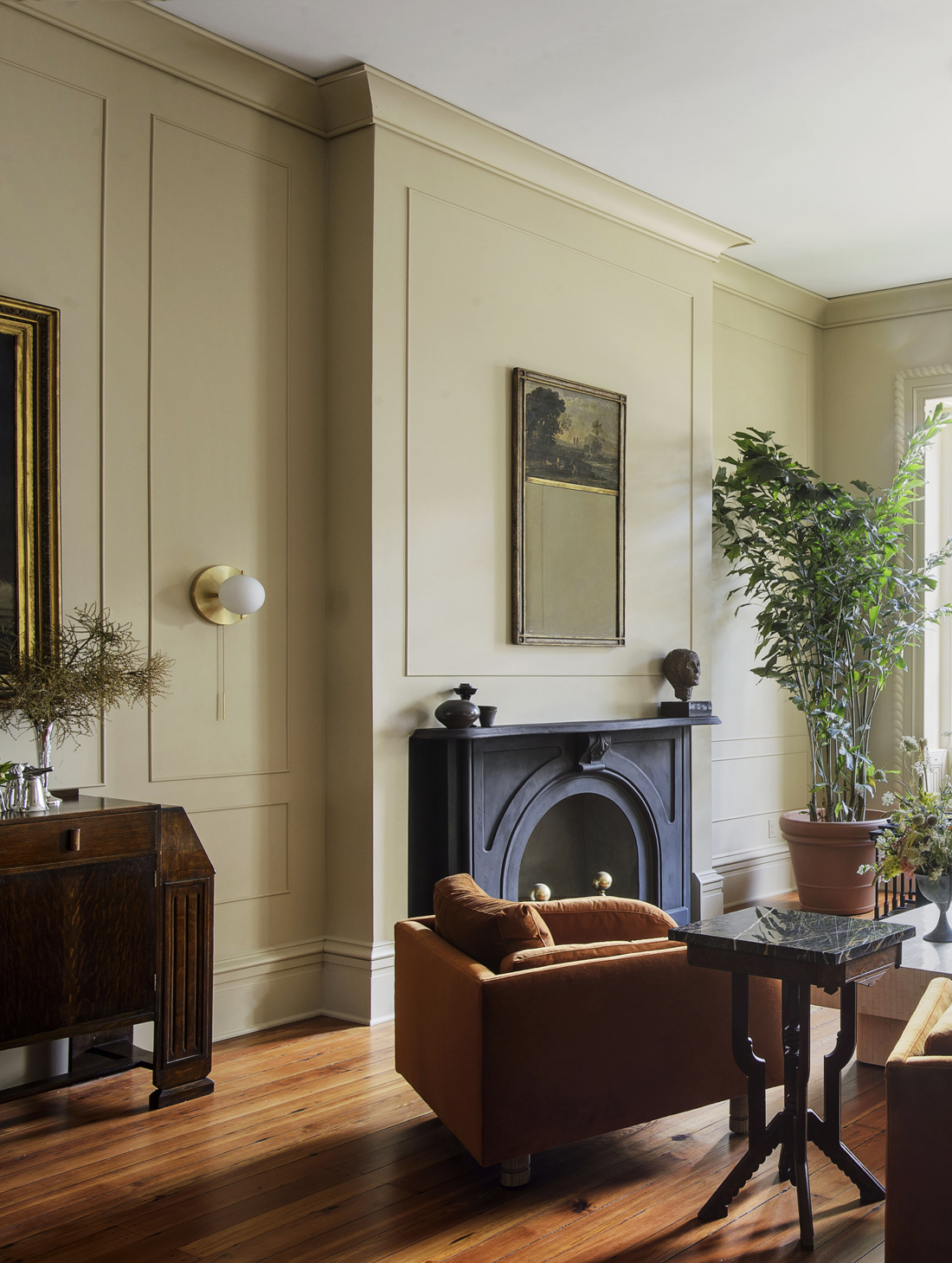 Workstead House | Charleston - Yellow Living room