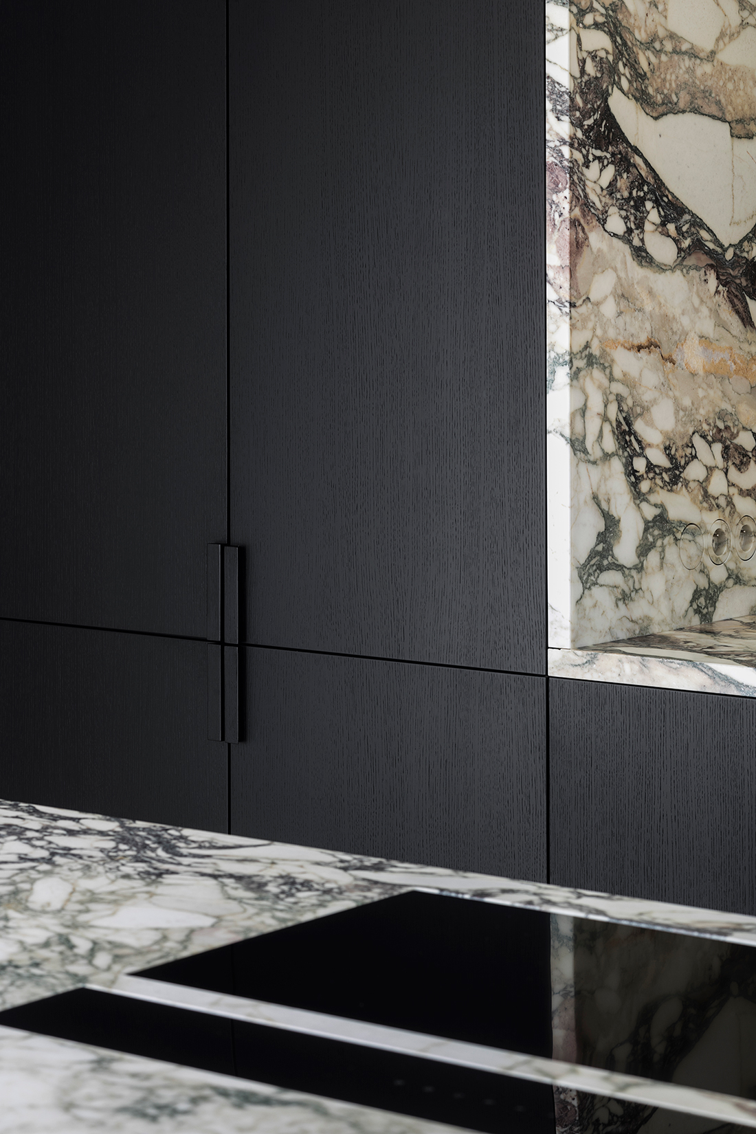 Black Custom Cabinetry by Dieter Vander Velpen | DPAGES